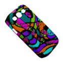 Abstract Sketch Art Squiggly Loops Multicolored Samsung Galaxy S III Classic Hardshell Case (PC+Silicone) View5