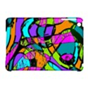 Abstract Sketch Art Squiggly Loops Multicolored Apple iPad Mini Hardshell Case (Compatible with Smart Cover) View1