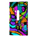 Abstract Sketch Art Squiggly Loops Multicolored Nokia Lumia 920 View3
