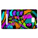 Abstract Sketch Art Squiggly Loops Multicolored HTC 8S Hardshell Case View1