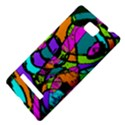 Abstract Sketch Art Squiggly Loops Multicolored HTC 8S Hardshell Case View4