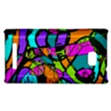Abstract Sketch Art Squiggly Loops Multicolored HTC 8X View1
