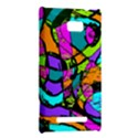 Abstract Sketch Art Squiggly Loops Multicolored HTC 8X View2