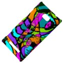 Abstract Sketch Art Squiggly Loops Multicolored HTC 8X View4