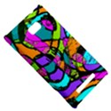 Abstract Sketch Art Squiggly Loops Multicolored HTC 8X View5