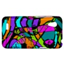 Abstract Sketch Art Squiggly Loops Multicolored HTC Desire VT (T328T) Hardshell Case View1