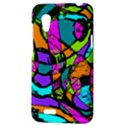 Abstract Sketch Art Squiggly Loops Multicolored HTC Desire VT (T328T) Hardshell Case View3