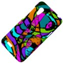 Abstract Sketch Art Squiggly Loops Multicolored HTC Desire VT (T328T) Hardshell Case View4
