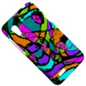 Abstract Sketch Art Squiggly Loops Multicolored HTC Desire VT (T328T) Hardshell Case View5