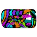Abstract Sketch Art Squiggly Loops Multicolored Samsung Galaxy S3 MINI I8190 Hardshell Case View1