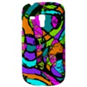 Abstract Sketch Art Squiggly Loops Multicolored Samsung Galaxy S3 MINI I8190 Hardshell Case View3