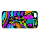 Abstract Sketch Art Squiggly Loops Multicolored Apple iPhone 5 Premium Hardshell Case View1