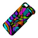 Abstract Sketch Art Squiggly Loops Multicolored Apple iPhone 5 Premium Hardshell Case View4