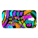 Abstract Sketch Art Squiggly Loops Multicolored Samsung Galaxy S4 I9500/I9505 Hardshell Case View1