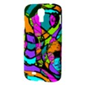 Abstract Sketch Art Squiggly Loops Multicolored Samsung Galaxy S4 I9500/I9505 Hardshell Case View3