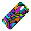 Abstract Sketch Art Squiggly Loops Multicolored Samsung Galaxy S4 I9500/I9505 Hardshell Case View4