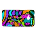 Abstract Sketch Art Squiggly Loops Multicolored HTC One M7 Hardshell Case View1