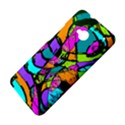 Abstract Sketch Art Squiggly Loops Multicolored HTC One M7 Hardshell Case View4