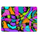 Abstract Sketch Art Squiggly Loops Multicolored Samsung Galaxy Tab 8.9  P7300 Flip Case View1