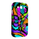 Abstract Sketch Art Squiggly Loops Multicolored Samsung Galaxy Grand DUOS I9082 Hardshell Case View2