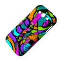 Abstract Sketch Art Squiggly Loops Multicolored Samsung Galaxy Grand DUOS I9082 Hardshell Case View4