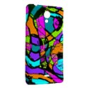 Abstract Sketch Art Squiggly Loops Multicolored Sony Xperia T View2