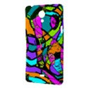 Abstract Sketch Art Squiggly Loops Multicolored Sony Xperia T View3