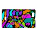 Abstract Sketch Art Squiggly Loops Multicolored Sony Xperia Miro View1