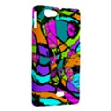 Abstract Sketch Art Squiggly Loops Multicolored Sony Xperia Miro View2