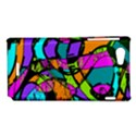 Abstract Sketch Art Squiggly Loops Multicolored Sony Xperia J View1