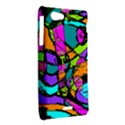 Abstract Sketch Art Squiggly Loops Multicolored Sony Xperia J View2