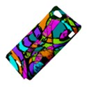 Abstract Sketch Art Squiggly Loops Multicolored Sony Xperia J View4