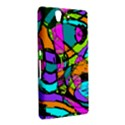 Abstract Sketch Art Squiggly Loops Multicolored Sony Xperia Z View2