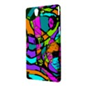 Abstract Sketch Art Squiggly Loops Multicolored Sony Xperia Z View3