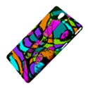 Abstract Sketch Art Squiggly Loops Multicolored Sony Xperia Z View4