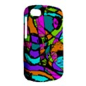 Abstract Sketch Art Squiggly Loops Multicolored BlackBerry Q10 View2