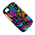 Abstract Sketch Art Squiggly Loops Multicolored BlackBerry Q10 View5