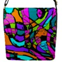 Abstract Sketch Art Squiggly Loops Multicolored Flap Covers (S)  View1