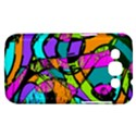 Abstract Sketch Art Squiggly Loops Multicolored Samsung Galaxy Win I8550 Hardshell Case  View1