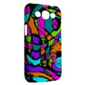 Abstract Sketch Art Squiggly Loops Multicolored Samsung Galaxy Win I8550 Hardshell Case  View2