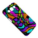 Abstract Sketch Art Squiggly Loops Multicolored Samsung Galaxy Win I8550 Hardshell Case  View5