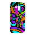Abstract Sketch Art Squiggly Loops Multicolored Samsung Galaxy Duos I8262 Hardshell Case  View2