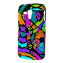 Abstract Sketch Art Squiggly Loops Multicolored Samsung Galaxy Duos I8262 Hardshell Case  View3