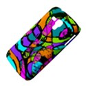 Abstract Sketch Art Squiggly Loops Multicolored Samsung Galaxy Duos I8262 Hardshell Case  View4