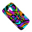 Abstract Sketch Art Squiggly Loops Multicolored Samsung Galaxy Duos I8262 Hardshell Case  View5