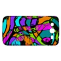 Abstract Sketch Art Squiggly Loops Multicolored Samsung Galaxy Mega 5.8 I9152 Hardshell Case  View1