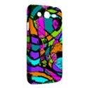 Abstract Sketch Art Squiggly Loops Multicolored Samsung Galaxy Mega 5.8 I9152 Hardshell Case  View2
