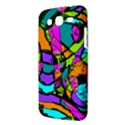 Abstract Sketch Art Squiggly Loops Multicolored Samsung Galaxy Mega 5.8 I9152 Hardshell Case  View3