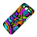 Abstract Sketch Art Squiggly Loops Multicolored Samsung Galaxy Mega 5.8 I9152 Hardshell Case  View4