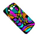 Abstract Sketch Art Squiggly Loops Multicolored Samsung Galaxy Mega 5.8 I9152 Hardshell Case  View5